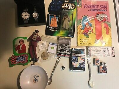 Junk Drawer Lot New Watch Set Antiques Collectibles