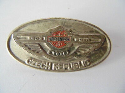 Harley-Davidson Pins Badge Collector  H-D  Czech Republic 1903 2003 Anniversary