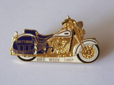 Harley-Davidson Pins Badge Collector Daytona Bike Week 1997