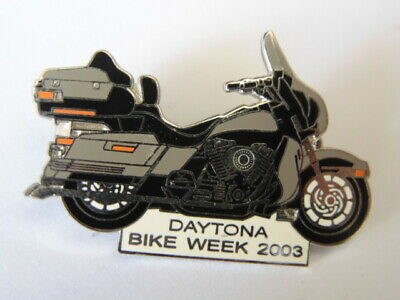 Harley-Davidson Pins Badge Collector Daytona Bike Week 2003