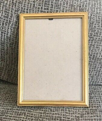 Vintage Style Gold Shabby Chic A4 Size photo Picture/photo Frame