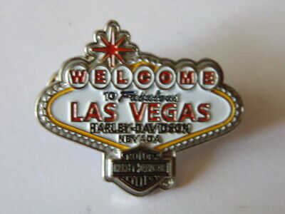 Harley-Davidson Hd Pins Badge Collector Las Vegas Nevada