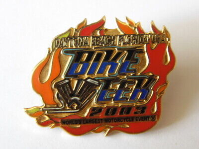 Harley-Davidson Hd Pins Badge Collector Daytona Beach Bike Week 2003