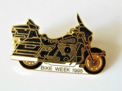 HARLEY-DAVIDSON PINS BADGE COLLECTOR DAYTONA 30th BIKE WEEK 1995