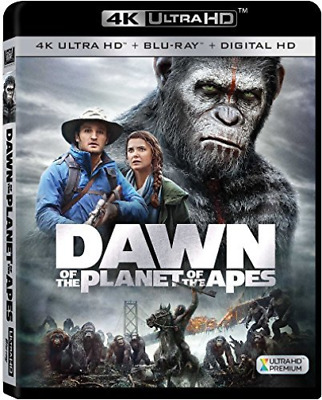 `OLDMAN,GARY`-4K Blu-Ray - DAWN OF THE PLANET OF THE APES Blu-Ray NEW