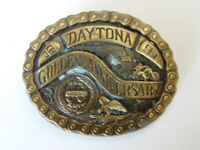 Harley Davidson Pins Badge Collector Daytona 1990 Copyright Buckle Tree