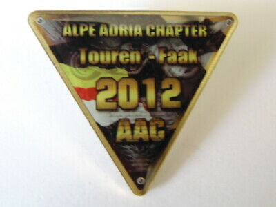 Harley Davidson Pins Badge Collector Alpe Adria Chapter Touren Faak 2012 Aac