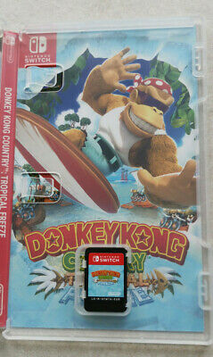 Donkey Kong Country Tropical Freeze (Nintendo Switch, 2018)