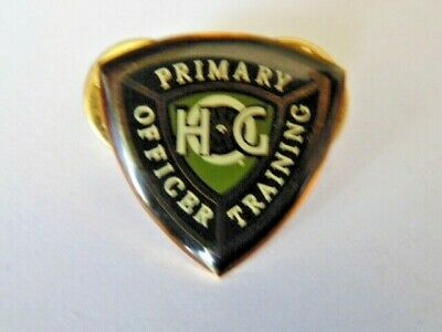 Harley Davidson Pins Badge Collector Hd Hog Primary Officer Training