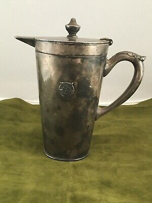 1918 St Paul MN Athletic Club Gorham Silver ElectroPlate Creamer Pitcher 8oz