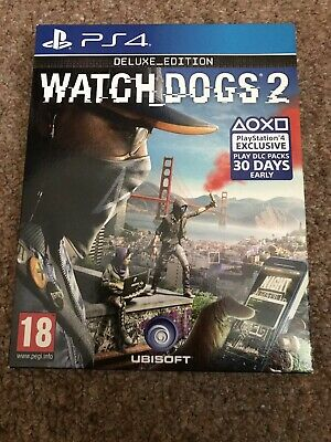 Watch Dogs 2: Deluxe Edition PlayStation 4 PS4