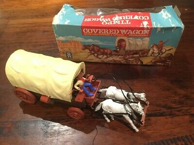 Timpo 1st Series Wagon Boxed - Wild West - 1960s