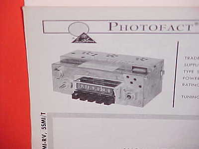 1965 Ih International Harvester Pickup Truck Scout Panel Am Radio Service Manual