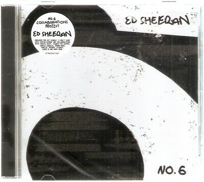 Ed Sheeran - No 6. Collaborations Project (CD) Brand New And Sealed