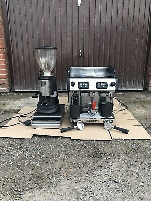 Expobar Zircon 2 Group Coffee Machine, Sanremo Grinder And Bin, Full Cafe Setup