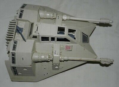 Vintage 1980 Star Wars Snow Speeder for parts, repair or Kitbashing