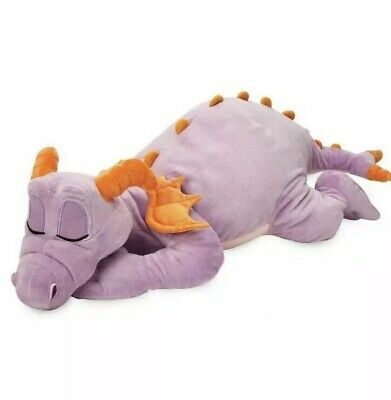 Disney Parks Epcot SLEEPING Figment DREAM Friends Large Soft Plush Doll 2019 NWT