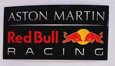 Aston Martin - Red Bull Racing - Official F1 Souvenir Vinyl Sticker - 2019