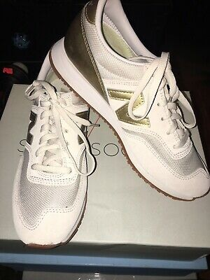 NEW BALANCE FOR J.Crew 620 Sneakers In Gold Salt NIB Women's