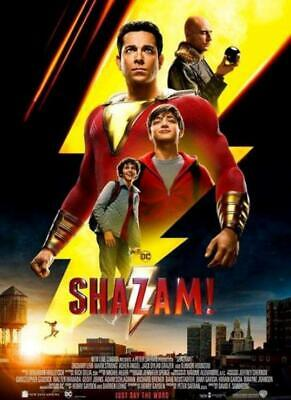 Shazam! Blu-Ray Disc 2019 Movie Zachary Levi DC
