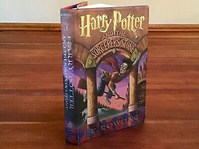 HARRY POTTER AND THE SORCERER'S STONE  1st Edition Oct. 1998HARDBACK