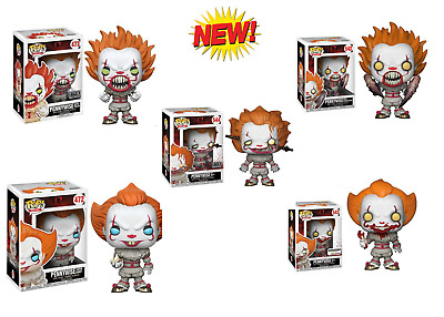 Funko Pop Movies -ALL FIGURES PENNYWISE  Vinyl Figure NEW Limited Edition 🔥