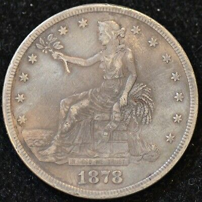 1878-S EXTREMELY FINE U.S. Trade Dollar