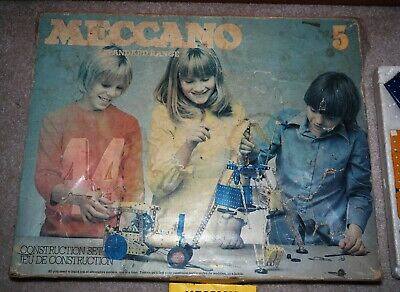 Vintage Meccano Set No 5 (English Made Standard Range)