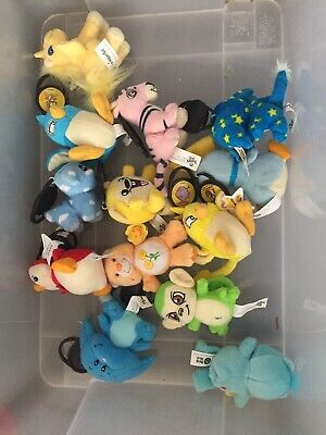Neopets McDonalds  Happy Meal Toy doll Plushie soft Toy Lot Bundle