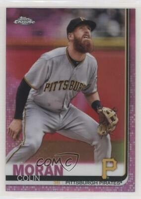 2019 Topps Chrome Pink Refractor #65 Colin Moran Pittsburgh Pirates Card