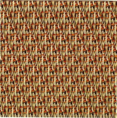 Shrooms Shrooms Shroom Blotter Art perforated sheet paper trippy psychedelic art
