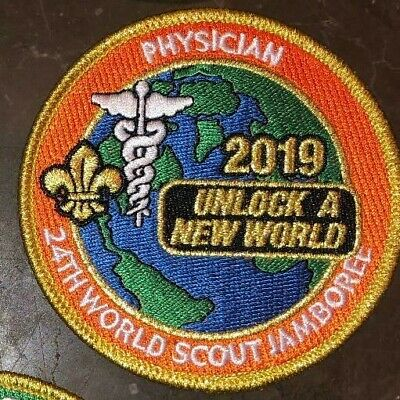 Physician IST Staff Patch Badge 2019 24th World Scout Jamboree Mondial Official