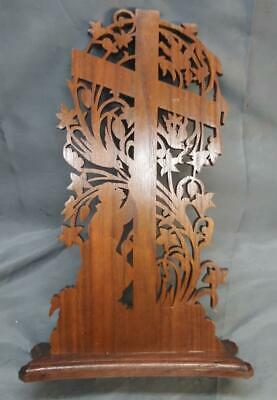 Old Vintage Wood Wooden Christian Christianity Religious Cross