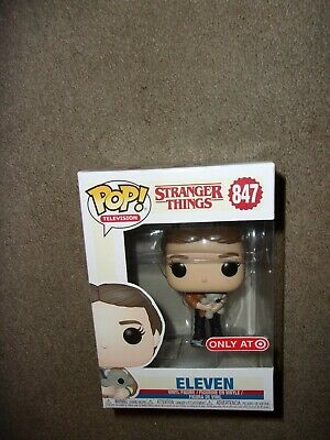 Funko Pop TV #847 Eleven with Teddy Bear Stranger Things Target Exclusive