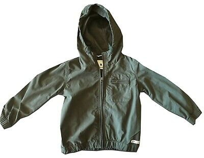 Immaculate Country Road Size 2-3 Khaki Hooded Jacket