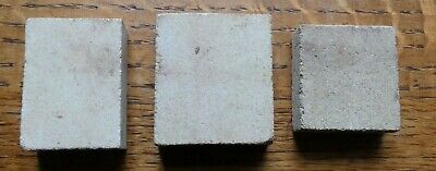 3 Small Square Supports / Kiln Props For Potters & Pottery (Ceramic)