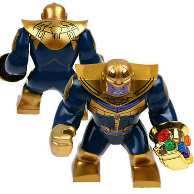 Avengers Infinity War Thanos Gauntlet Mini Figures Building Blocks Toys Gift New