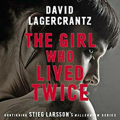 The Girl Who Lived Twice by David Lagercrantz - (Audiobook)