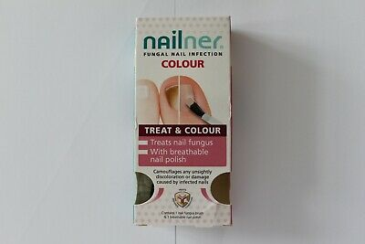 Nailner Fungal Nail Infection Treat & Colour - 2x5ml