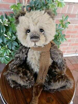 Charlie Bears Stirling - 2015 Isabelle Collection alpaca mohair teddy bear 33cm