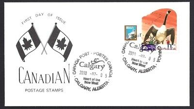 Canada   # 2400  SPECIAL ROADSIDE ATTRACTIONS - 2 CACHET    New 2010 Unaddressed