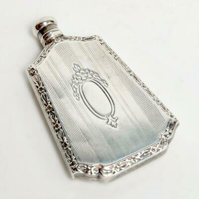 Antique Webster Company Sterling Silver Petite Perfume Bottle