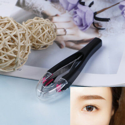 1Pc Matically retractable non-slip cosmetic eyebrow tweezers hair removal to~GN