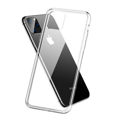 For iPhone 11 Pro Max / Pro 2019 Case Clear Silicone Shockproof Soft Gel Cover
