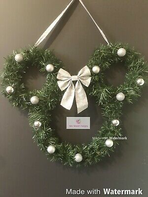 Mickey Mouse Xmas Wreath