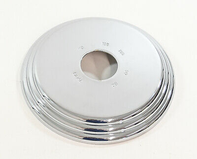 Cifial CIF2 Chrome Shower Trim Plate 1/pkg