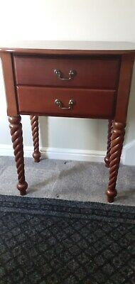 Hall Table With Drawers , Mahogany Finish. Good Condition.