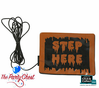 """STEP PAD HALLOWEEN ANIMATED PROP FOOT ACTIVATION Foot Pad 55"""" Cable 5122566"""