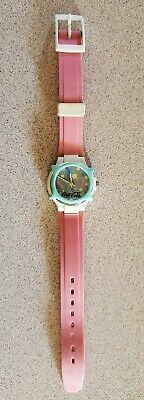 """Vintage 1980s Swatch Coke Watch """"Coca Cola"""" with New Battery Swiss"""