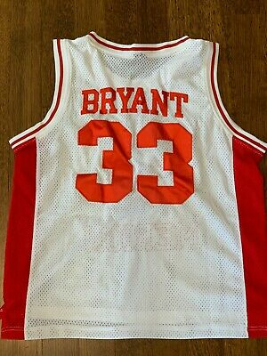 check out 7fbb1 51747 KOBE BRYANT #33 Lower Merion High School Basketball Jersey ...